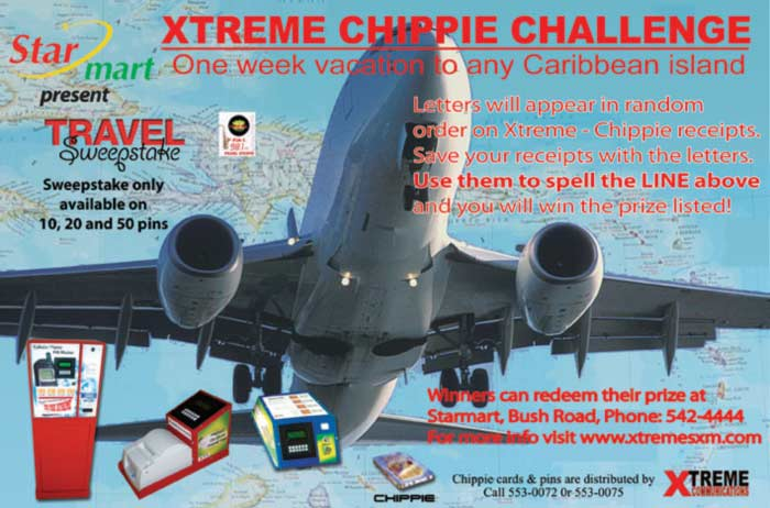 Play now in the Xtreme Chippie Challenge